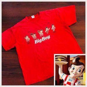 Authentic Vintage/Retro T Shirt Big Boy 2XL